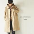 【送料無料】P/ツイルビッグステンカラーコート◆9187