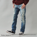 【送料無料】【Nudie Jeans/ヌーディージーンズ】Thin Finn Authentic Repair◆9210