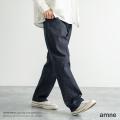 【送料無料】【amne/アンヌ】 日本製/国産 ease tidy 14 Denim Jeans◆9275