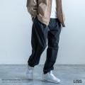 【送料無料】【LISS/リス】Stretch Nylon Shirring Tuck Pants◆9288