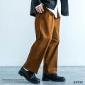【送料無料】【amne/アンヌ】 日本製/国産 belted GABARDINE trouser◆9298