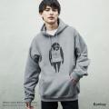 【Banksy/バンクシー】プルオーバーパーカー◆9366