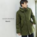 【送料無料】【Ranch/ランチ】ナイロンタフタモッズコート◆9386