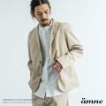 【送料無料】【amne/アンヌ】 日本製/国産 tiny tailored GABARDINE jacket◆9421