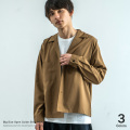 ビッグサイズシャツジャケット◆9423