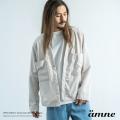 【送料無料】【amne/アンヌ】日本製/国産 trip CANAPA cardigan◆9455