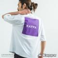 【Kappa】×【Rocky Monroe】別注スクエアプリントロゴTEE【ゆうパケット送料無料】◆9464