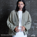 【LITTER/リッター】 lnfluence of clusters ストレッチナイロンルーズシルエットジャケット◆9469