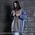 【LITTER/リッター】lnfluence of clusters 切替デザインスーパービッグシャツ◆9476