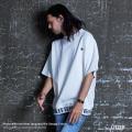 【LITTER/リッター】lnfluence of clusters ポンチ裾ジャガードリブT-Shirt◆9482