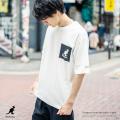 KANGOL×Rocky Monroe別注 ロゴS/S Tee【ゆうパケット送料無料】◆9487