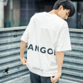 KANGOL×Rocky Monroe別注 プリントS/S Tee【ゆうパケット送料無料】◆9488