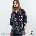 レーヨンビッグシルエットオープンシャツ◆9526