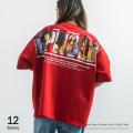 ポンチプリントBIGTシャツ◆9529