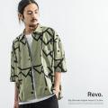 【Revo./レヴォ】BIGシルエットイングリッシュパターンSSシャツ◆9536