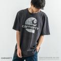 【CARHARTT/カーハート】Original Fit Heavyweight Short-Sleeve Logo Graphic T-Shirt◆9564