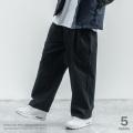 【Ressaca/レサーカ】ワイドタックカラーパンツ◆9611