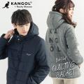 【送料無料】【KANGOL】×【Rocky Monroe】2WAYキルティング中綿ジャケット◆9654
