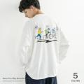 イラストBIG L/S Tシャツ◆9665