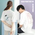 レトロプリント半袖ビッグT【ゆうパケット送料無料】◆9793
