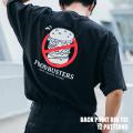パロディプリント半袖ビッグT【ゆうパケット送料無料】◆9795