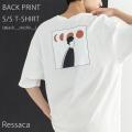 【Ressaca/レサーカ】イラスト半袖Tシャツ(@jack__studio__)◆9828