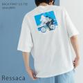 【Ressaca/レサーカ】イラスト半袖Tシャツ(@uta088)◆9829