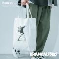 【Banksy】【BRANDALISED】トートバッグ◆9840