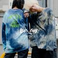 【BAD BOY/バッドボーイ】タイダイプリントロンT◆9854