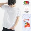 【FRUIT OF THE LOOM/フルーツオブザルーム】3枚組 クルーネックTシャツ◆9888