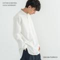 【送料無料】【Upscape Audience/アップスケープオーディエンス】日本製/国産 コットンシーチングコックオーバーシャツ◆9910