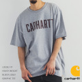 【CARHARTT/カーハート】 Loose Fit Heavy Weight Block Logo Graphic Tee◆9928
