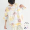 タイダイ半袖BIG Tシャツ◆9931