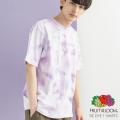【FRUIT OF THE LOOM/フルーツオブザルーム】タイダイ染め S/S Tシャツ◆9962