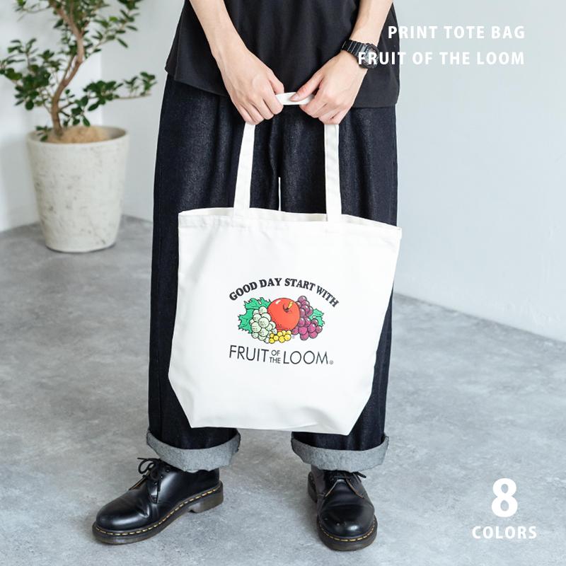 【FRUIT OF THE LOOM/フルーツオブザルーム】Fruit Print PL TOTE/トートバッグ/エコバッグ◆11187