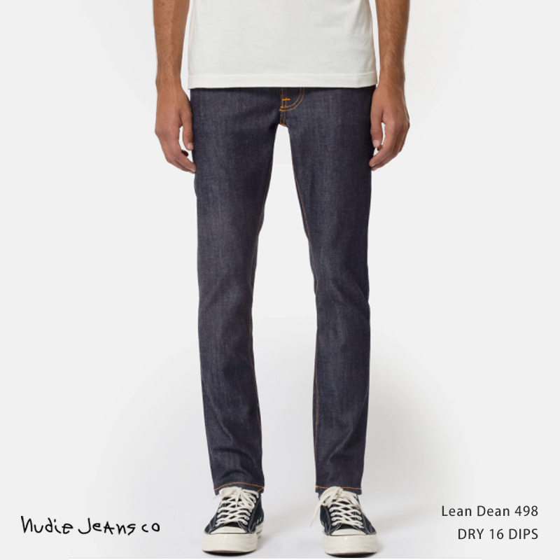 【送料無料】【Nudie Jeans/ヌーディージーンズ】Lean Dean N498.Dry 16 Dips◆11237