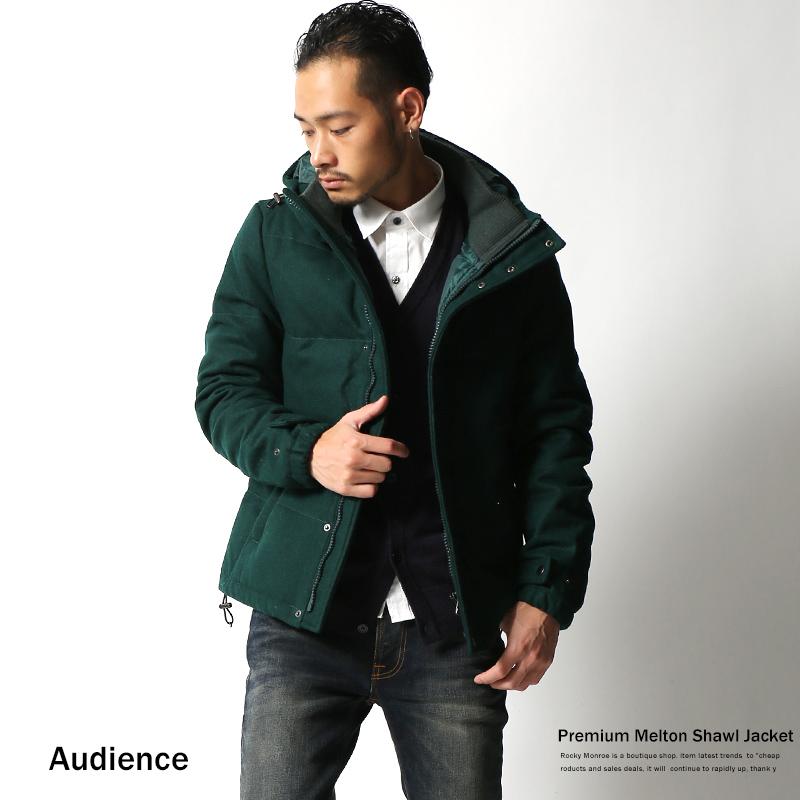 【Audience】メルトンウールダウンジャケット◆2166