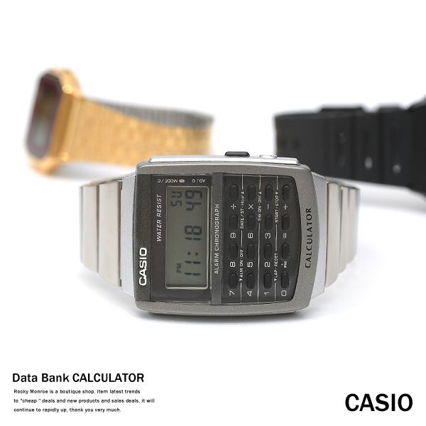 【CASIO/カシオ】逆輸入8桁計算機能付きデータバンクカリキュレーター◆4597
