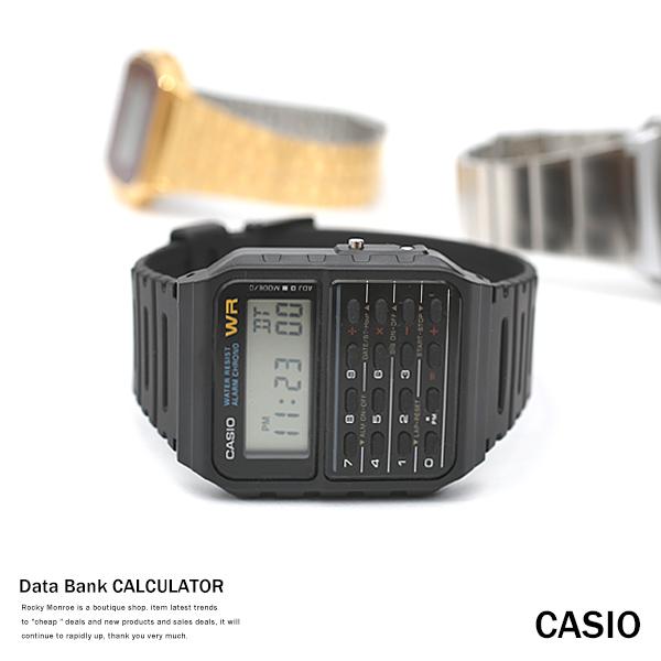 【CASIO/カシオ】逆輸入8桁計算機能付きデータバンクカリキュレーター◆4598