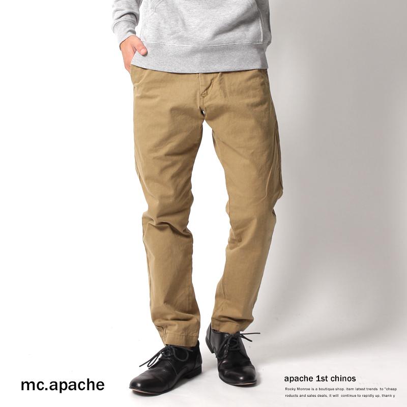 【mc.apache/エムシーアパッシュ】日本製/国産アパッシュ1stチノパン◆4762