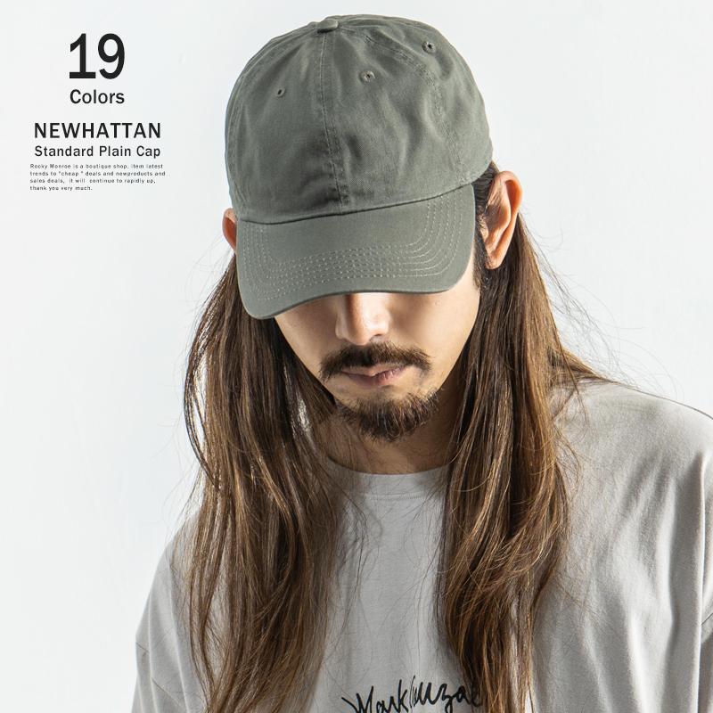 【NEWHATTAN/ニューハッタン】カラーローキャップ◆5757