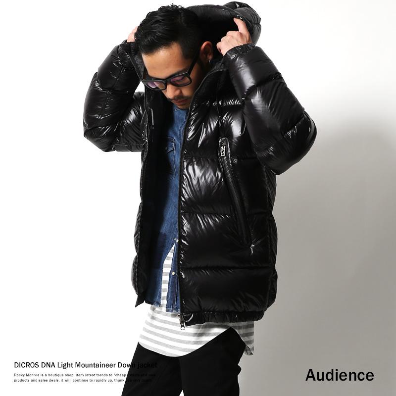 【Audience/オーディエンス】DICROS DNA Lightフードダウンジャケット◆6151