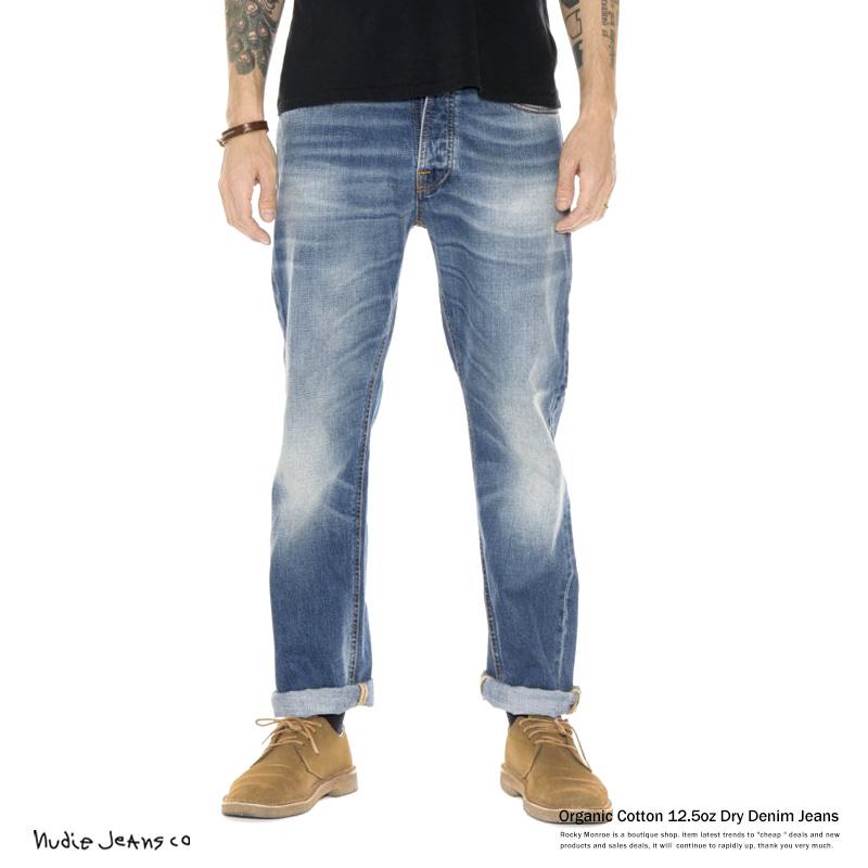 【Nudie Jeans/ヌーディージーンズ】LOOSE LEIF True Indigo 12.5オンスリジットデニム◆6431
