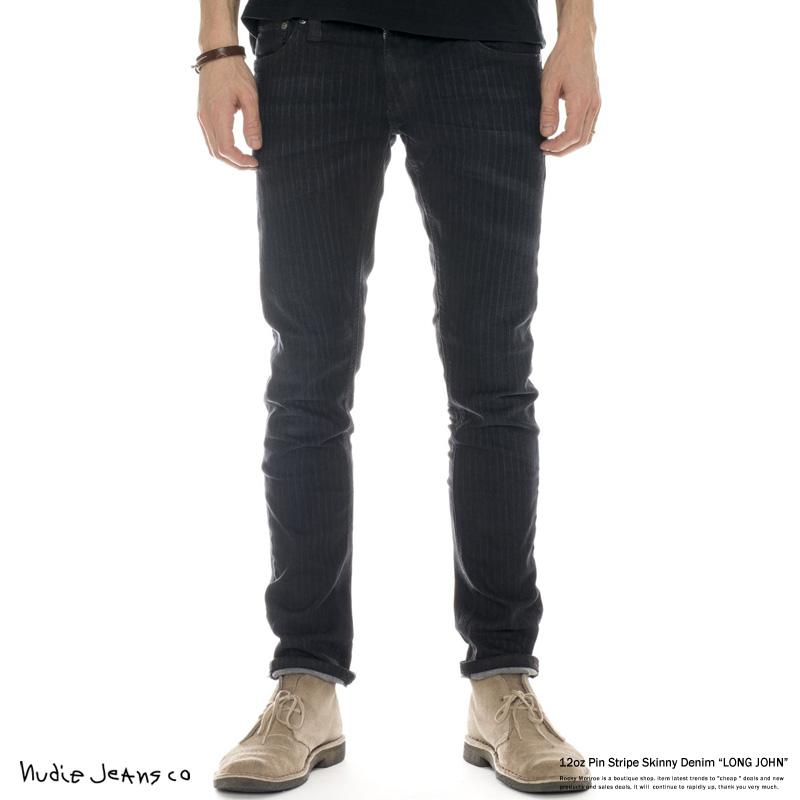 【Nudie Jeans/ヌーディージーンズ】LONG JOHN70パワーストレッチデニムパンツ◆6782