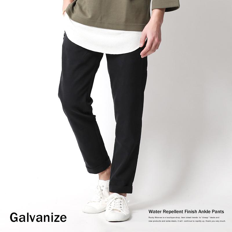 【Galvanize/ガルバナイズ】撥水テンセルストレッチアンクルイージーパンツ◆6989
