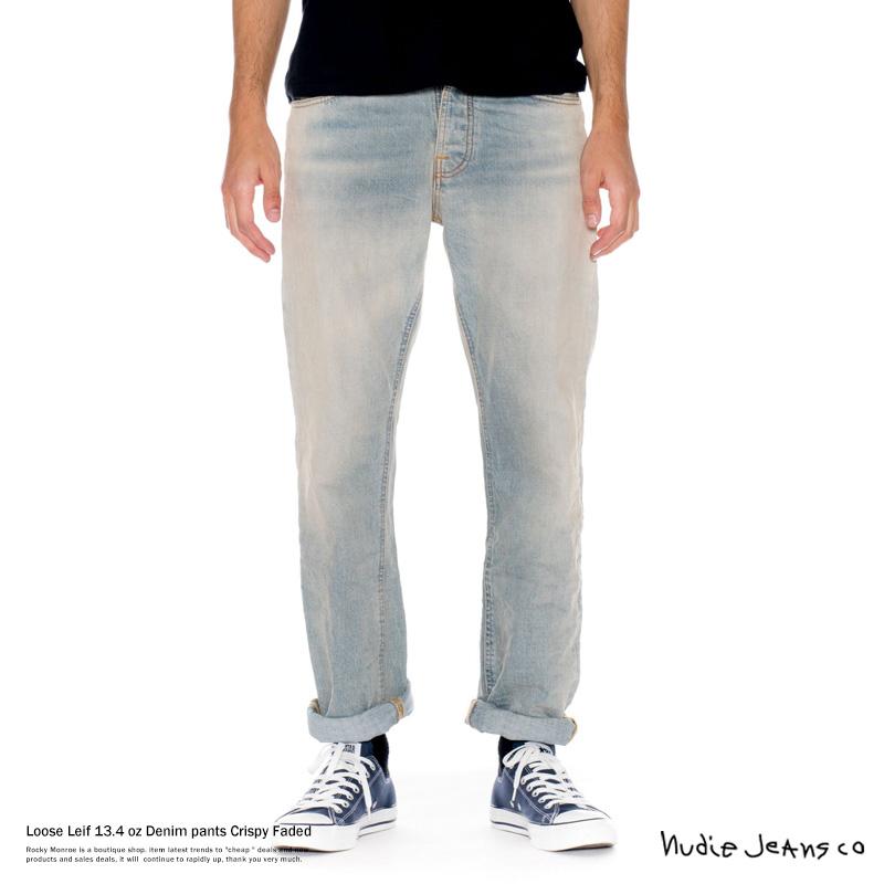 "【Nudie Jeans/ヌーディージーンズ】""Loose Leif""13.4ozデニムパンツ◆7023"