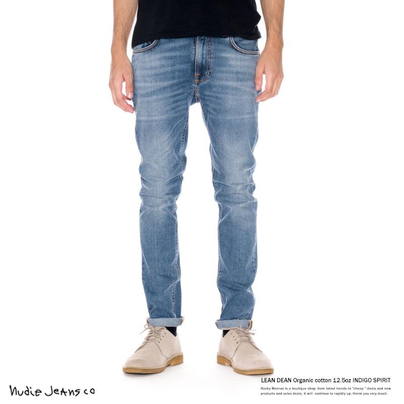 【Nudie Jeans/ヌーディージーンズ】LEAN DEAN 12.5oz INDIGO SPIRIT◆7065