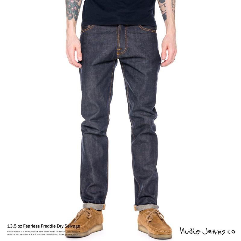 【Nudie Jeans/ヌーディージーンズ】Fearless Freddie Dry Selvage◆7553