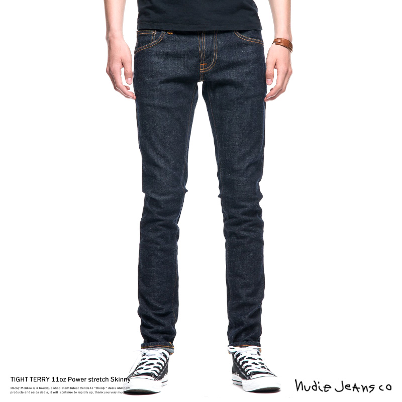 【Nudie Jeans/ヌーディージーンズ】TIGHT TERRY RINSE TWILL◆7715