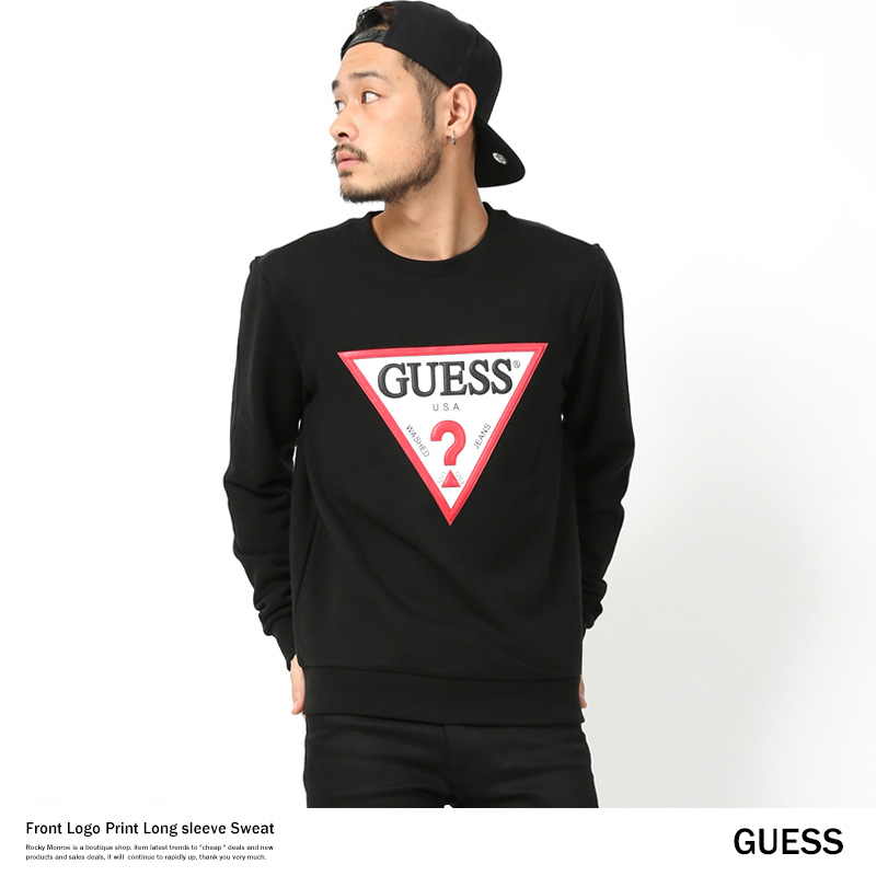 【GUESS/ゲス】プリントスウェット◆7814